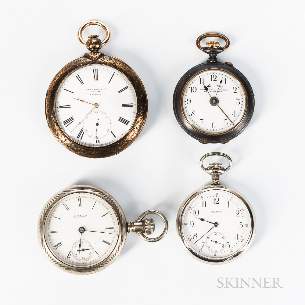 Four Open-face Watches