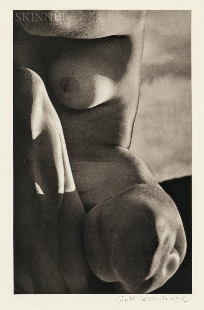 Ruth Bernhard (American, 1905-2006)      Rockport Nude