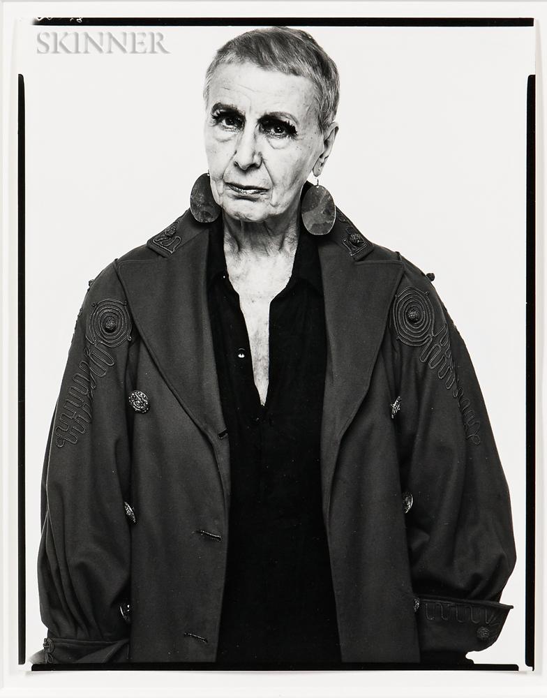 Richard Avedon (American, 1923-2004)      Louise Nevelson, Sculptress, New York City
