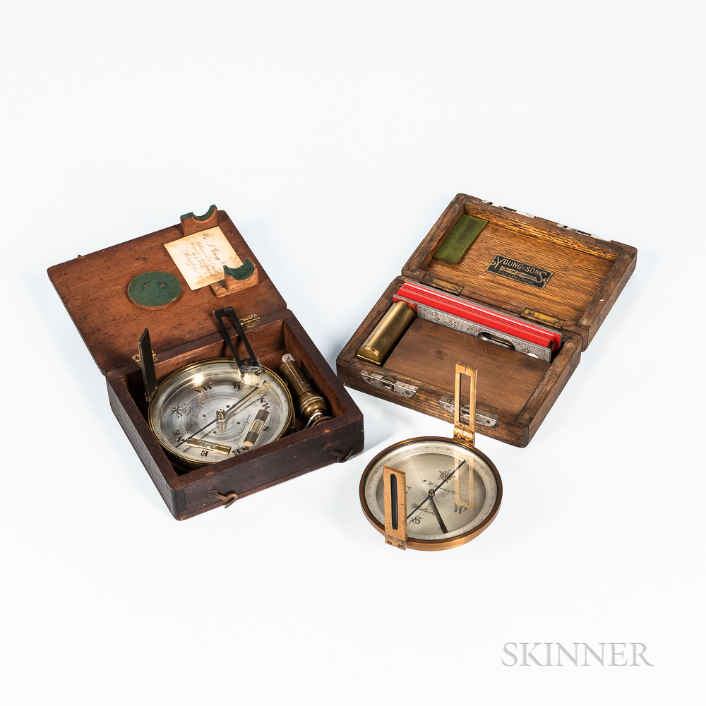 Three Philadelphia Surveyor's Instruments