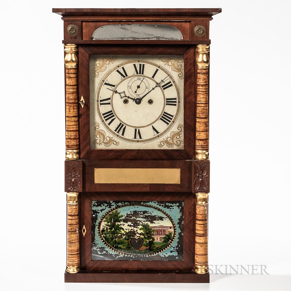 Richard Ward Salem Bridge Shelf Clock