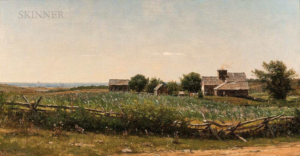 Worthington Whittredge (American, 1820-1910)      View on the Sakonnet