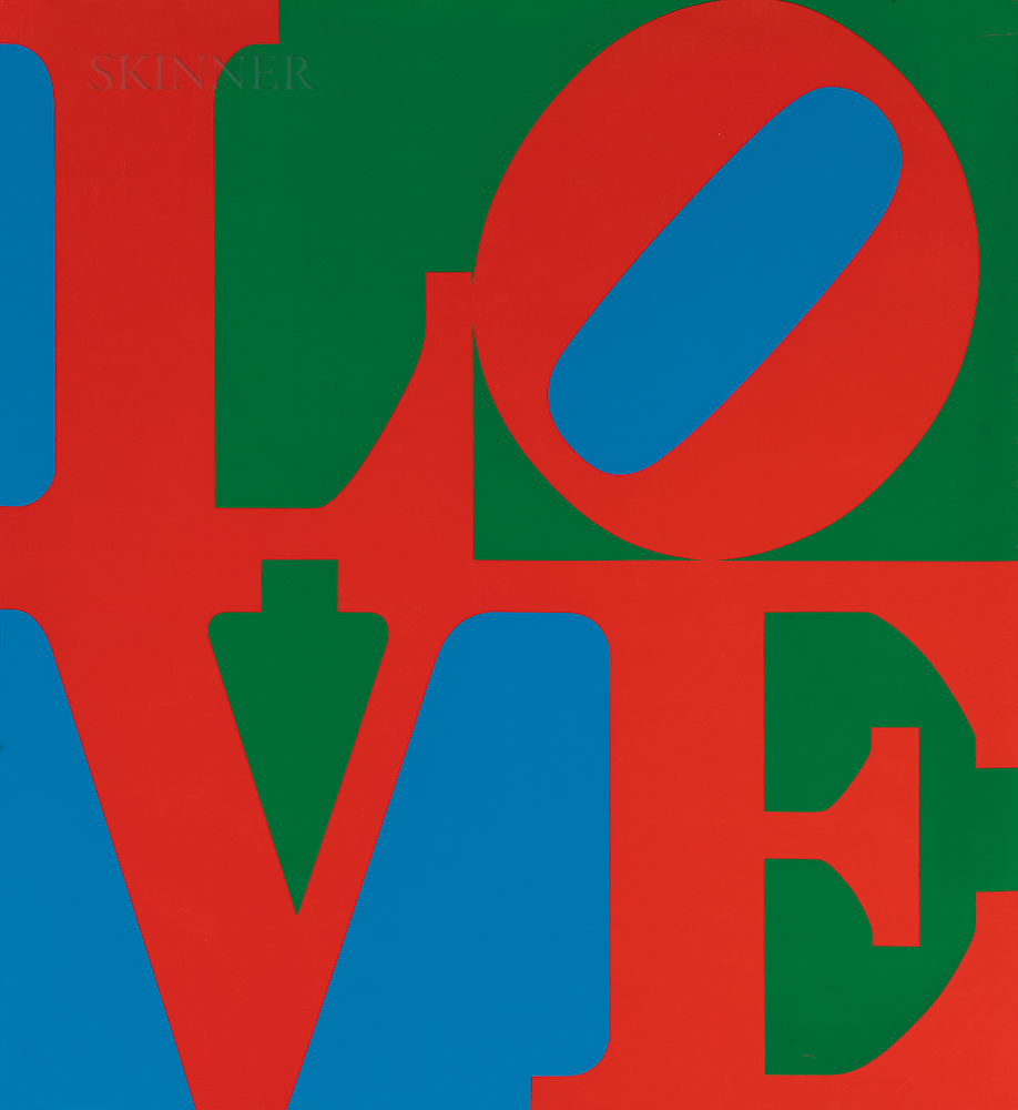 Robert Indiana (American, 1928-2018)      Love