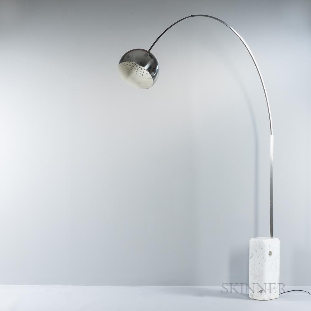 "Achille and Pier Giacomo Castiglioni for Flos ""Arco"" Floor Lamp"
