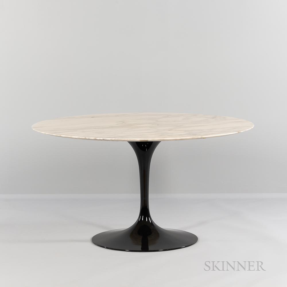 Eero Saarinen (1910-1961) for Knoll International Marble-top Tulip Dining Table