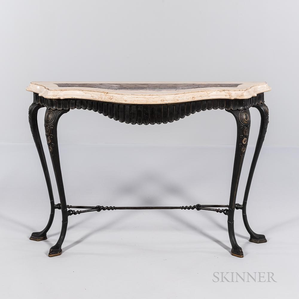 Oscar Bach (German/American, 1884-1957) Console Table