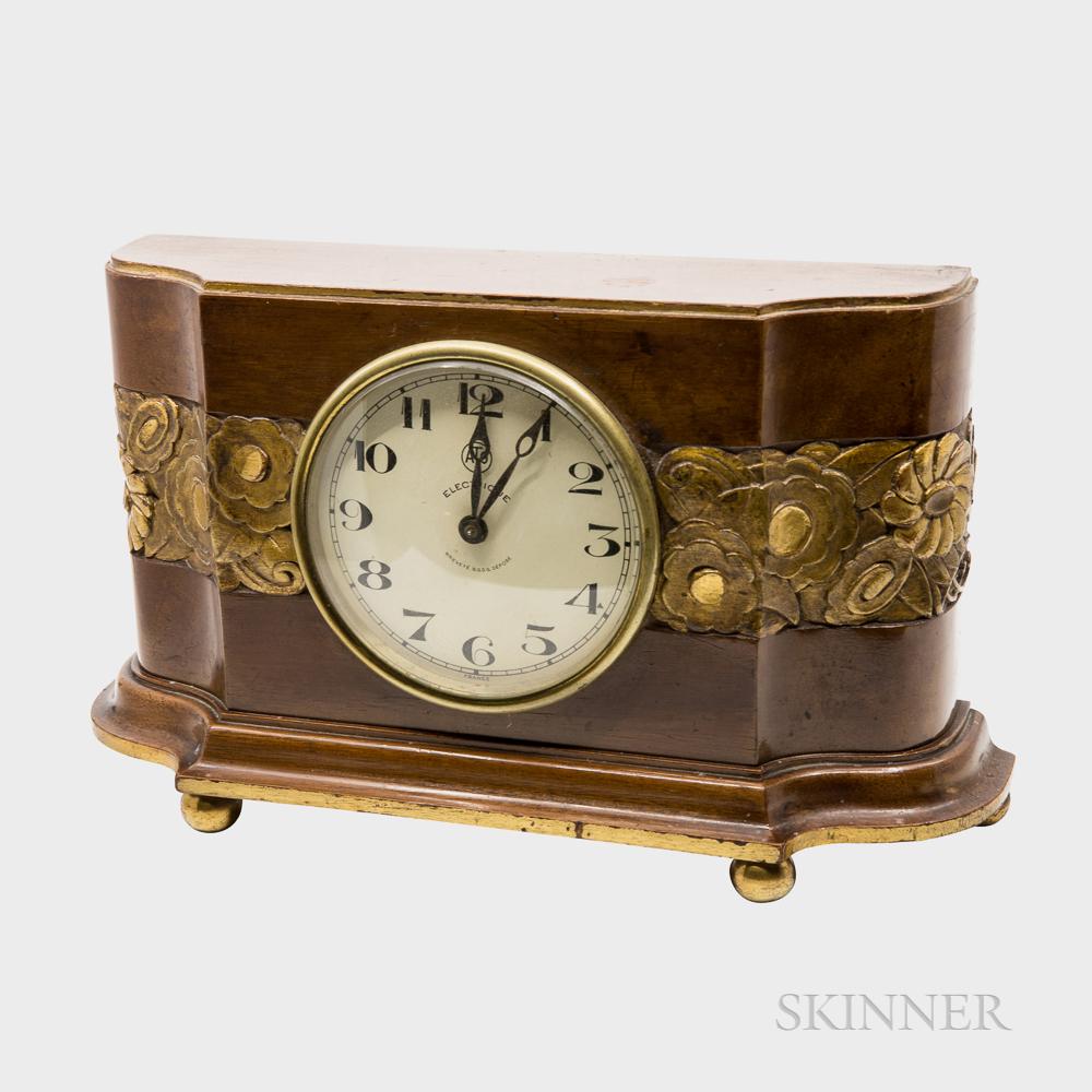 "Léon Hatot (French, 1883-1953) ""ATO"" Clock"