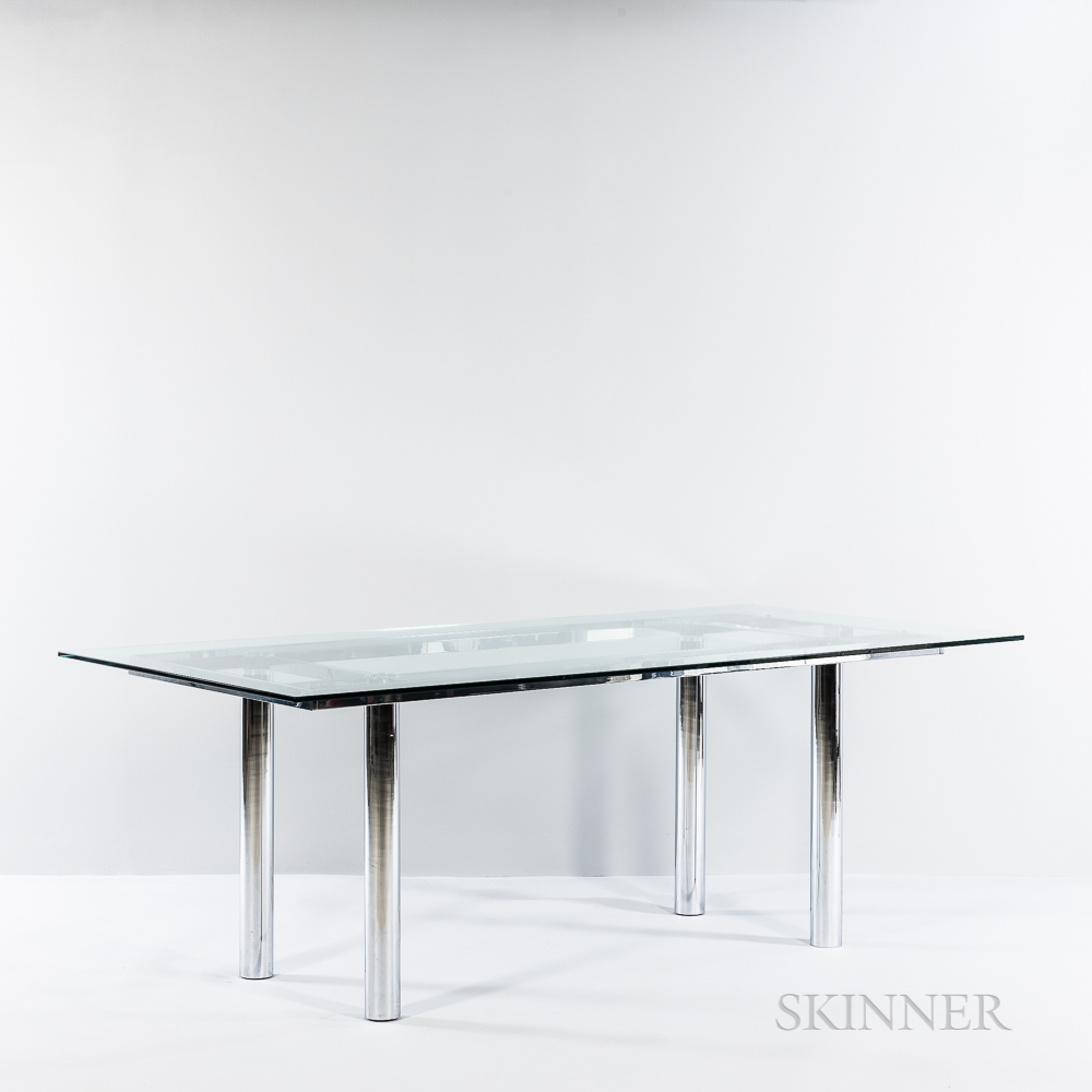 "Tobia Scarpa (b. 1935) for Knoll International ""André"" Dining Table"