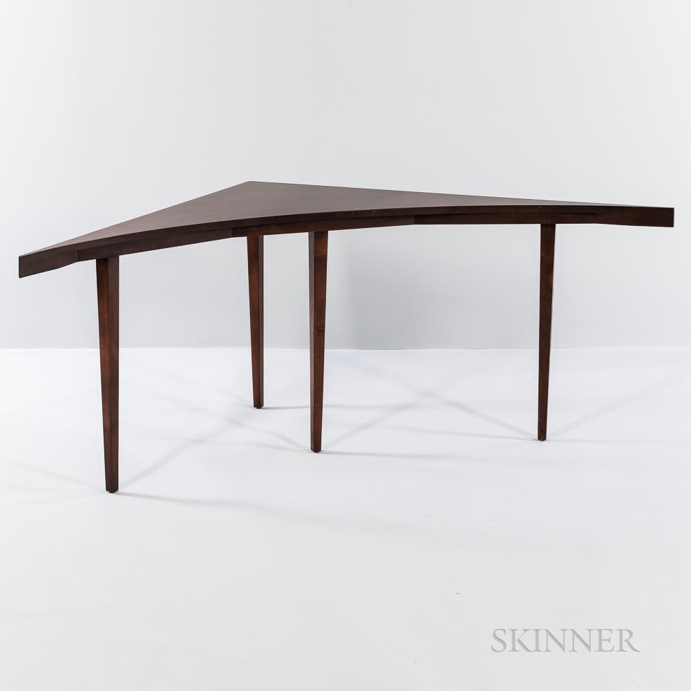 Harvey Probber (1922-2003) Corner Table