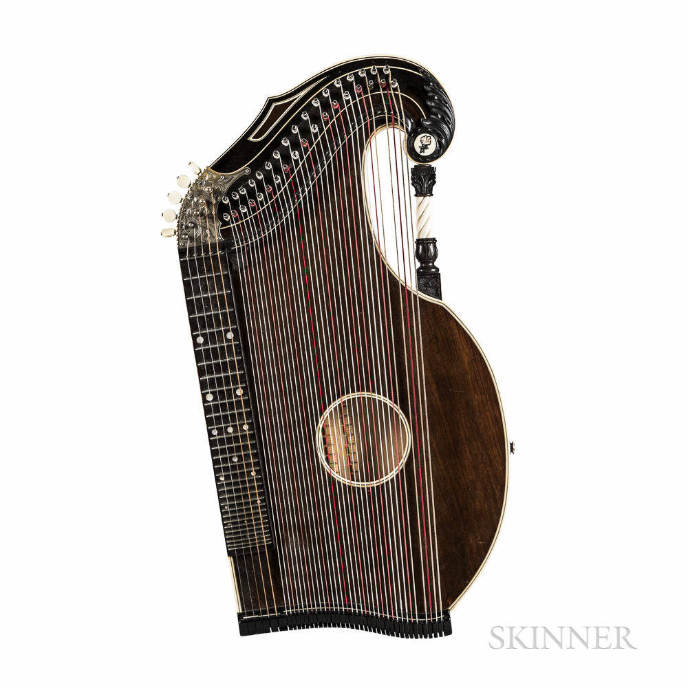 Alpine Zither, Possibly Adolf Meinel