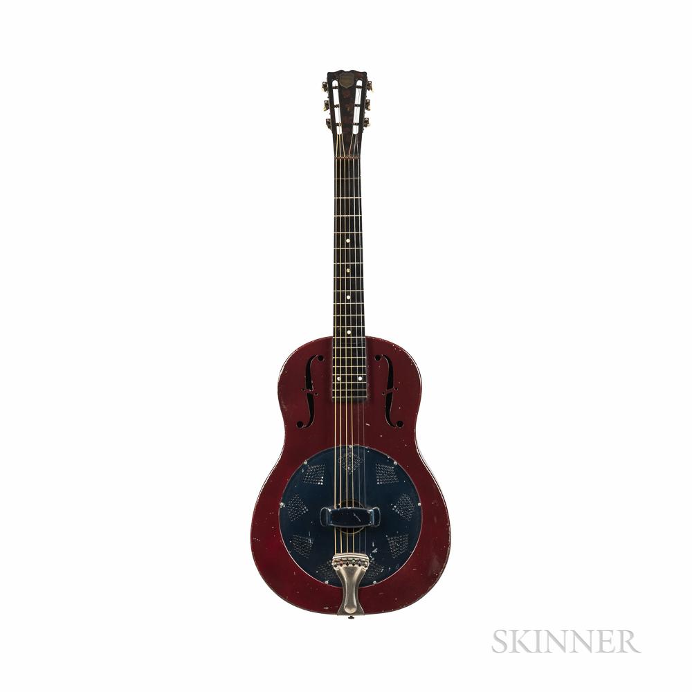 National Triolian Resonator Guitar, 1929