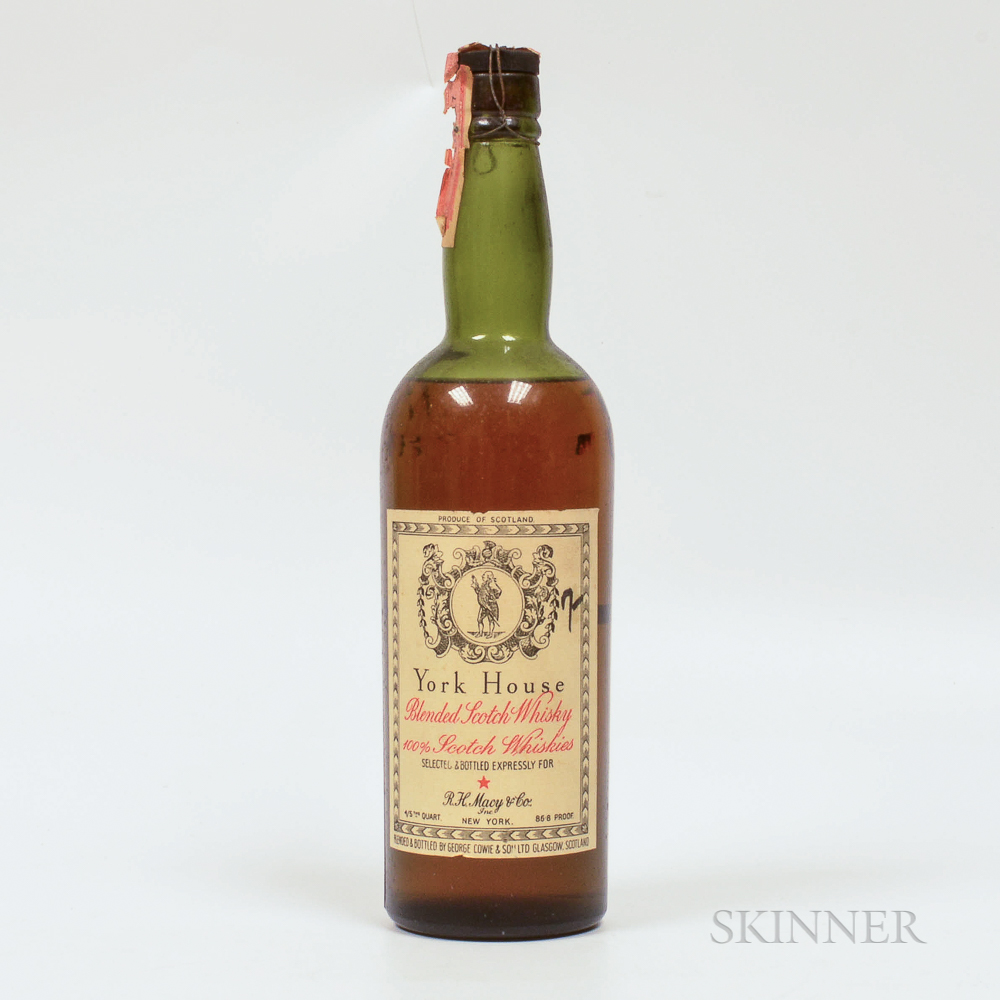York House Blended Scotch, 1 4/5 quart bottle Spirits cannot be shipped. Please see http://bit.ly/sk-spirits for more info.