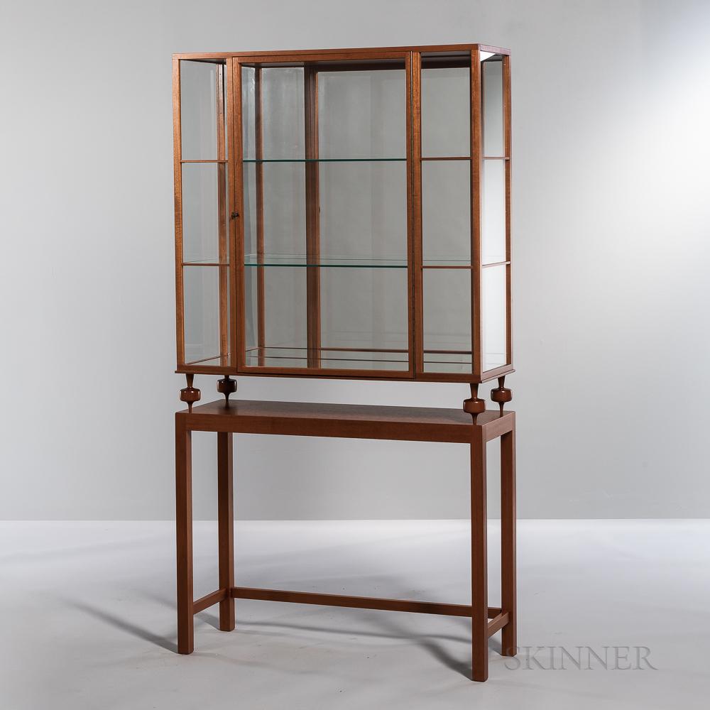 "Josef Frank (1885-1967) by Svenskt Tenn ""Model 2077"" Vitrine on Stand"