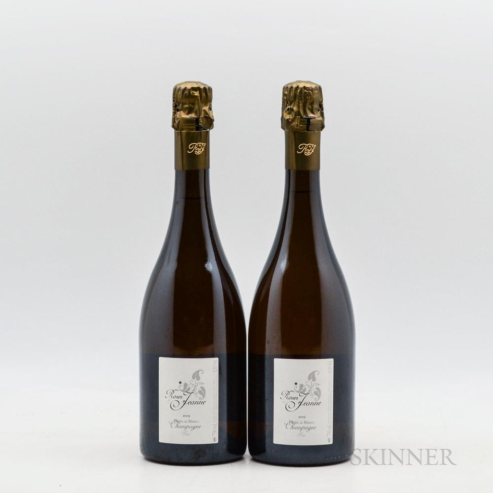 Cedric Bouchard Roses de Jeanne La Boloree 2005, 2 bottles
