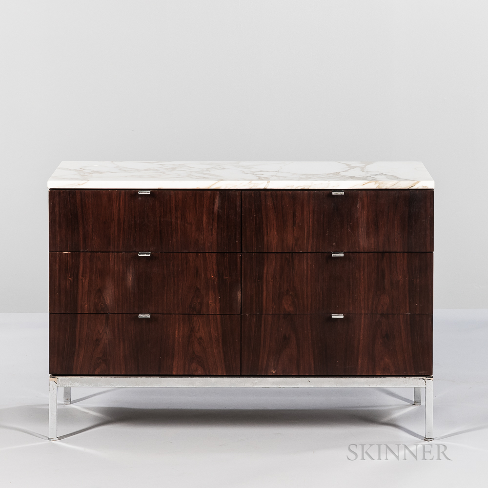"Florence Knoll (1917-2019) for Knoll Associates ""Model 2545M Two Position Credenza,"""
