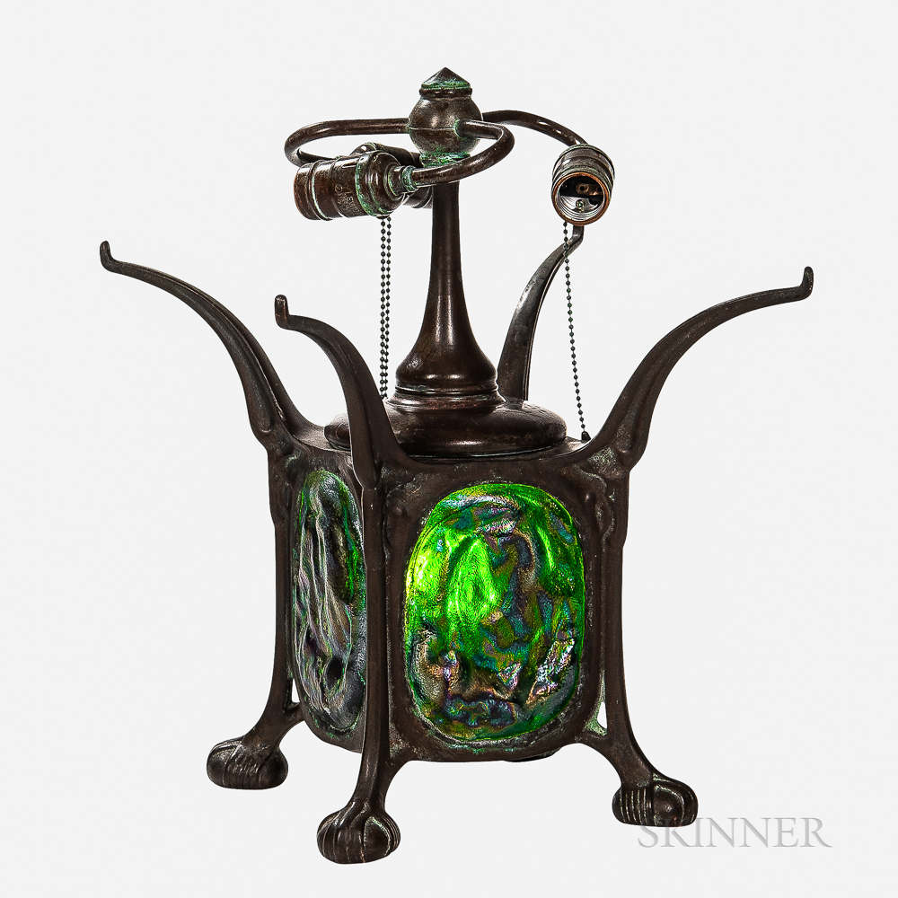 Tiffany-style Turtleback Lamp Base