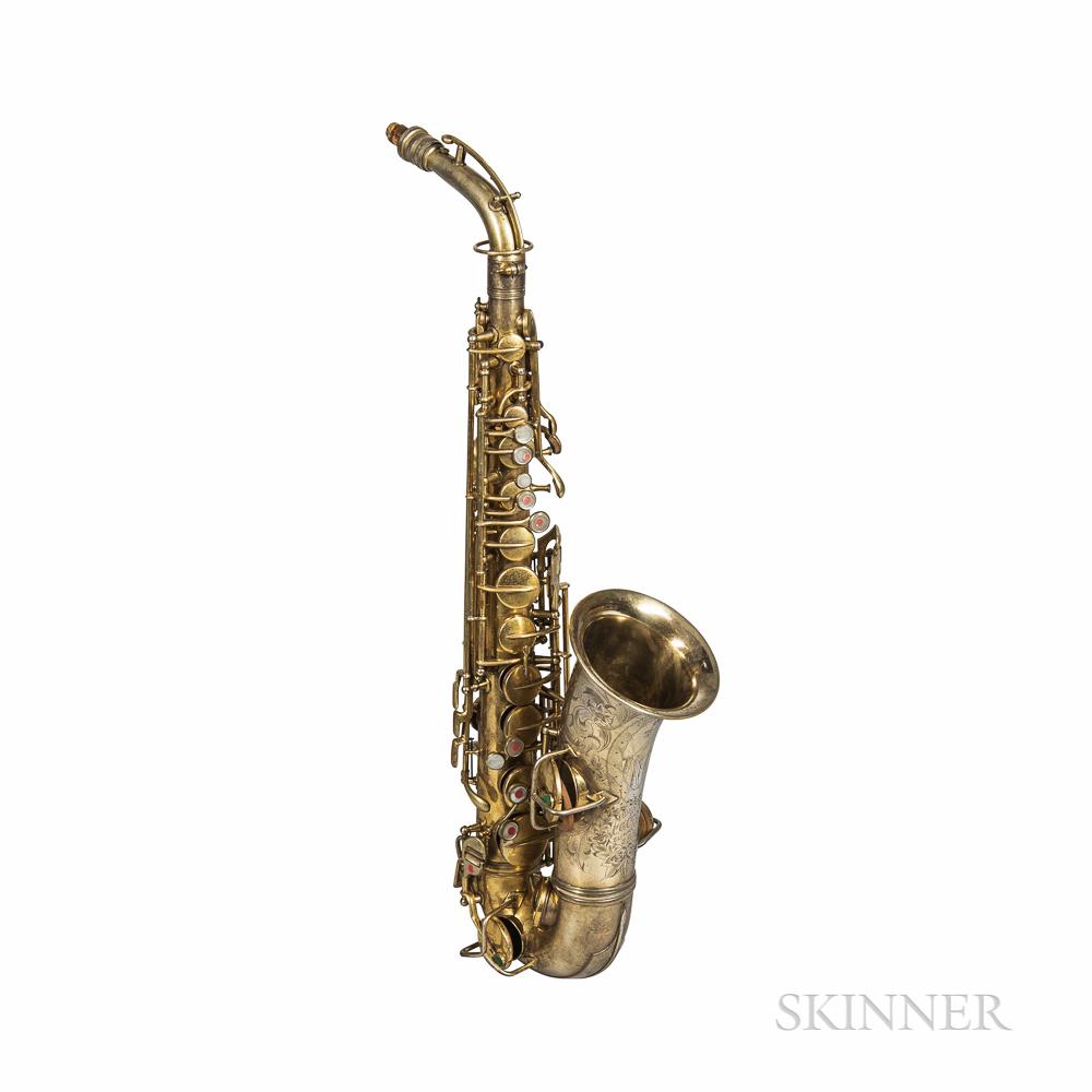 Alto Saxophone, C.G. Conn New Wonder Artist Special, c. 1924