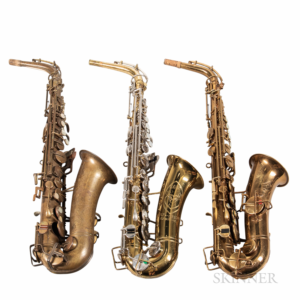 Three Alto Saxophones, Buescher