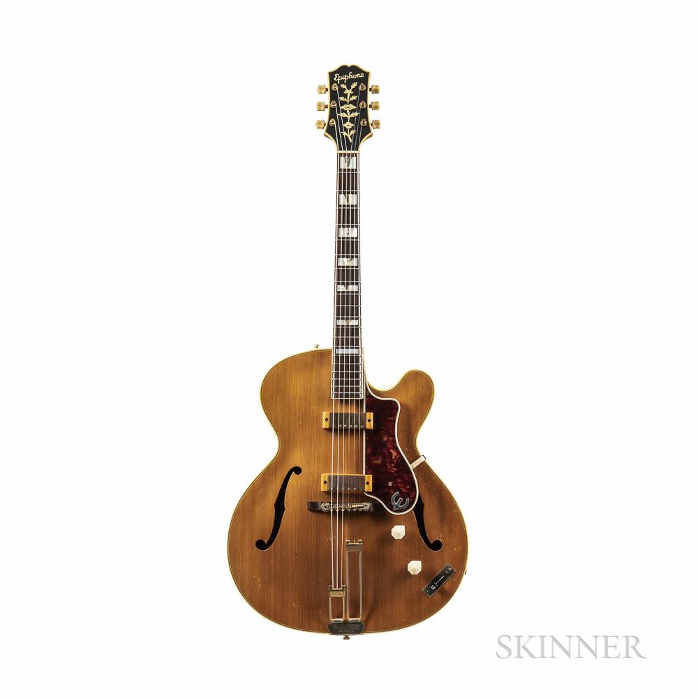 Epiphone Zephyr Deluxe Regent Archtop Guitar, c. 1951