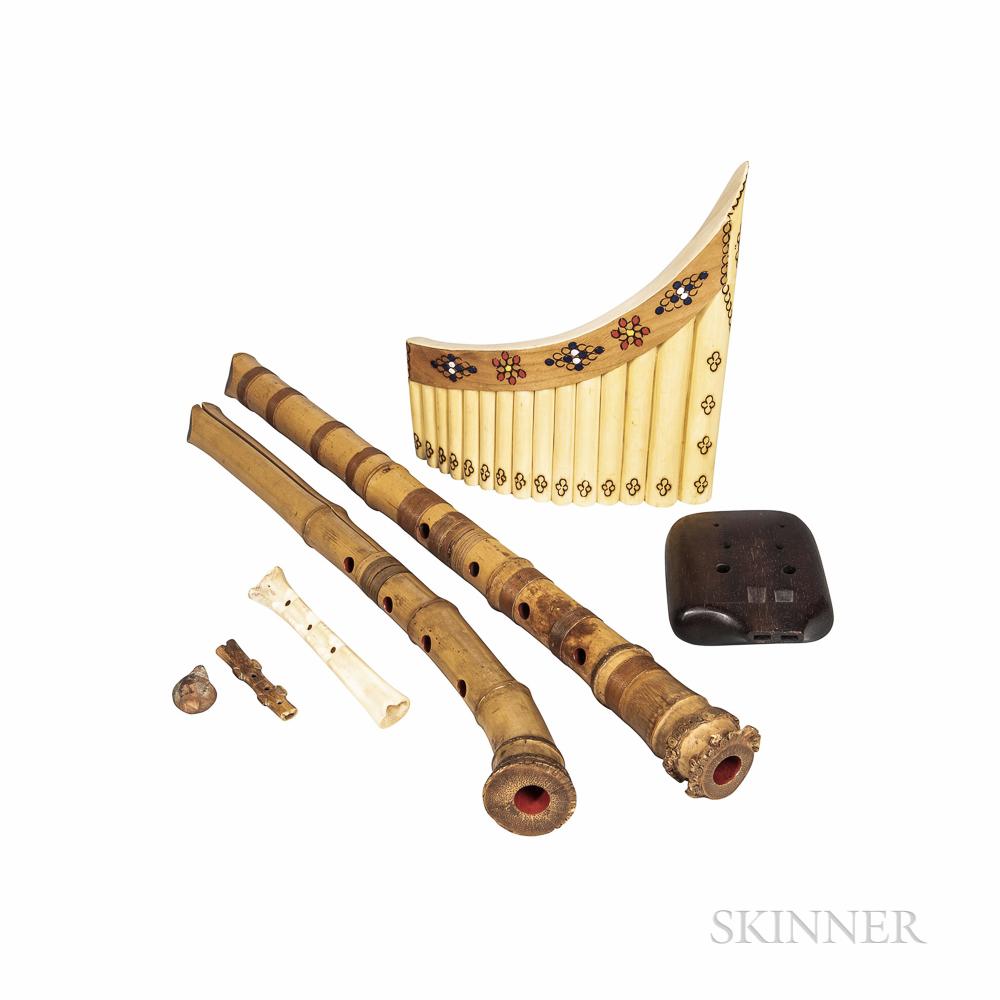 Seven Ethnic Flutes
