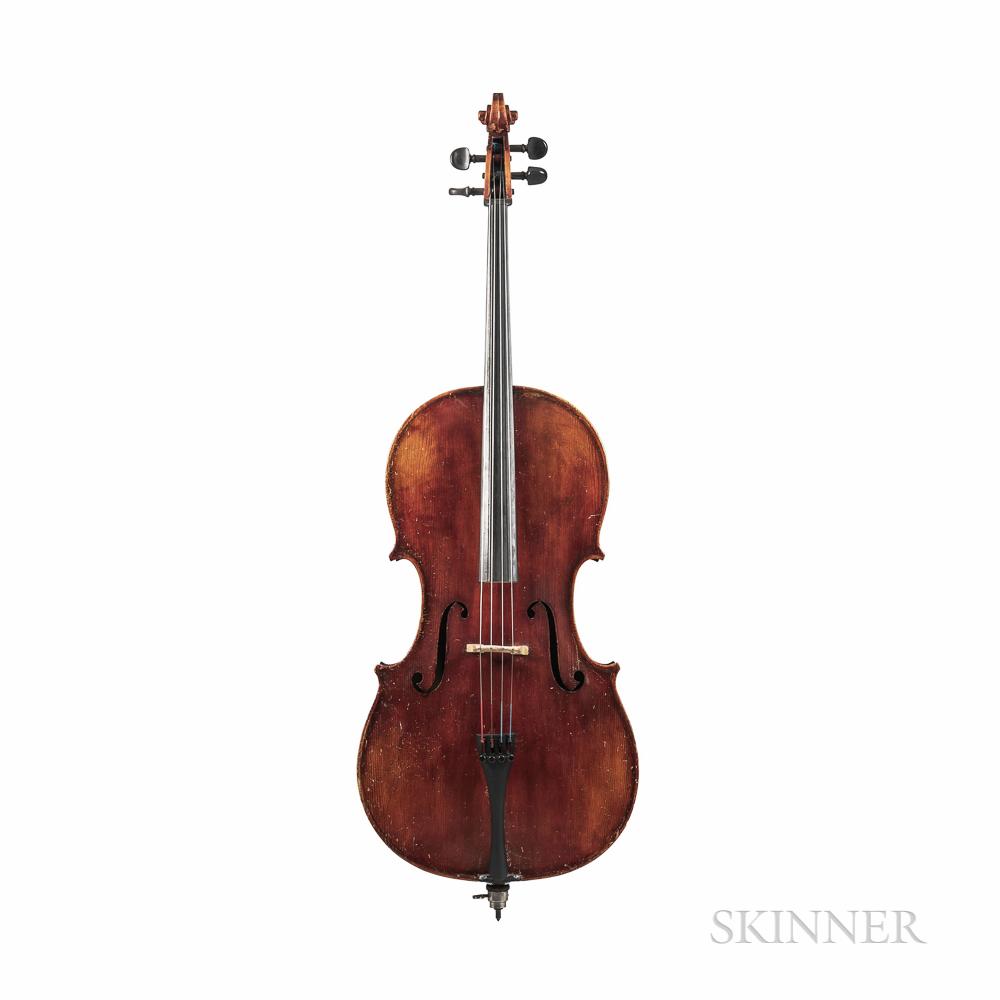 German Three-quarter Size Violoncello
