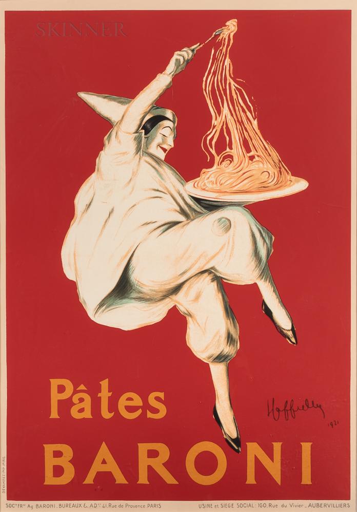 After Leonetto Cappiello (French, 1875-1942)      Pâtes Baroni   Reproduction Poster