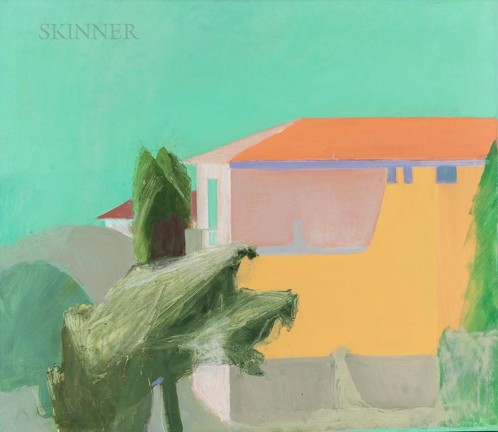Ken Worley (American, b. 1942)      Green Sky