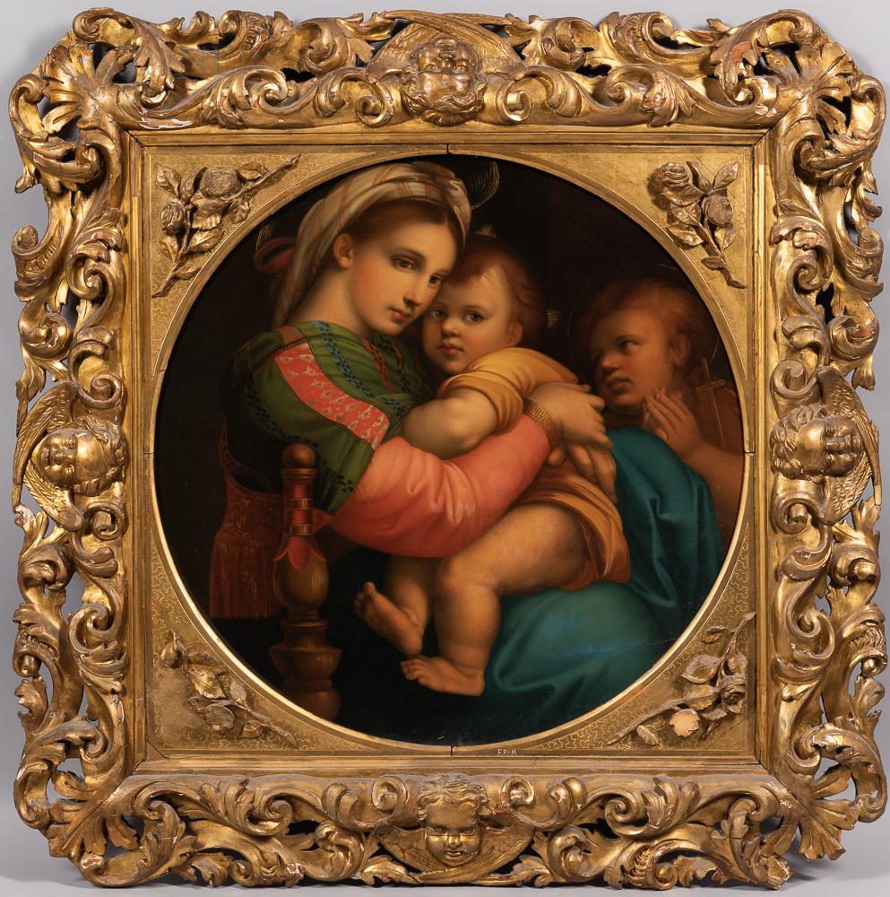 After Raphael (Italian, 1483-1520)      Copy of Madonna della Sedia