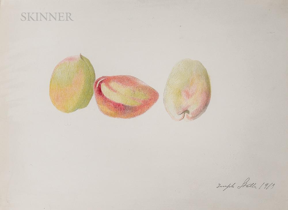 Joseph Stella (American, 1877-1946)      Peaches