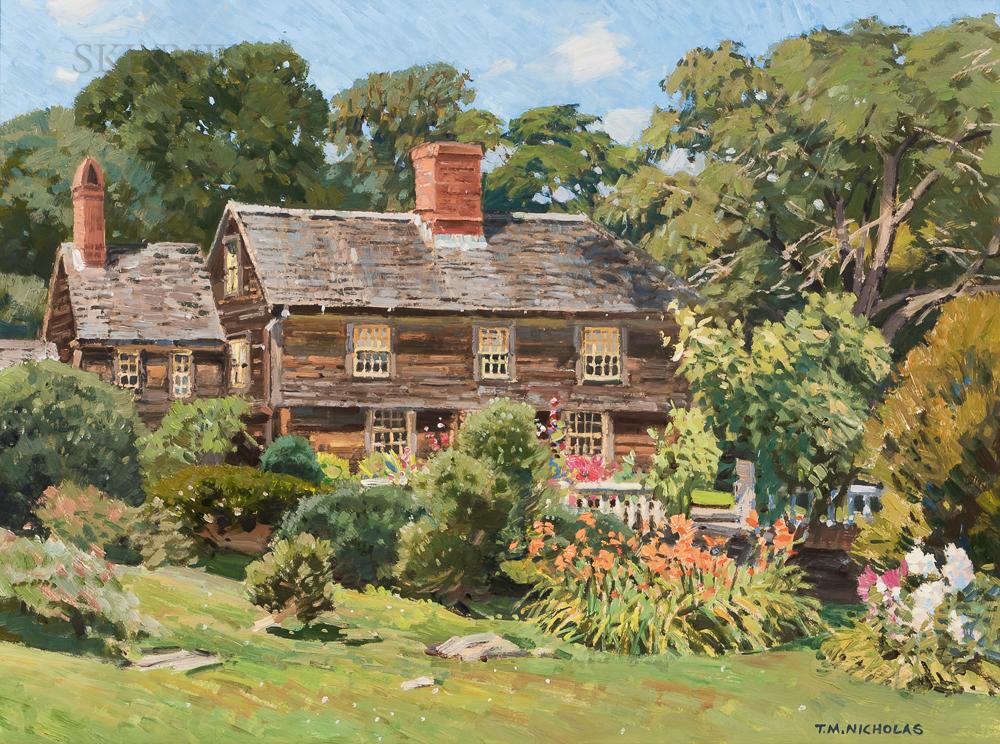 Thomas Michael Nicholas (American, b. 1963)      Garrison House c. 1660, Rockport, Massachusetts