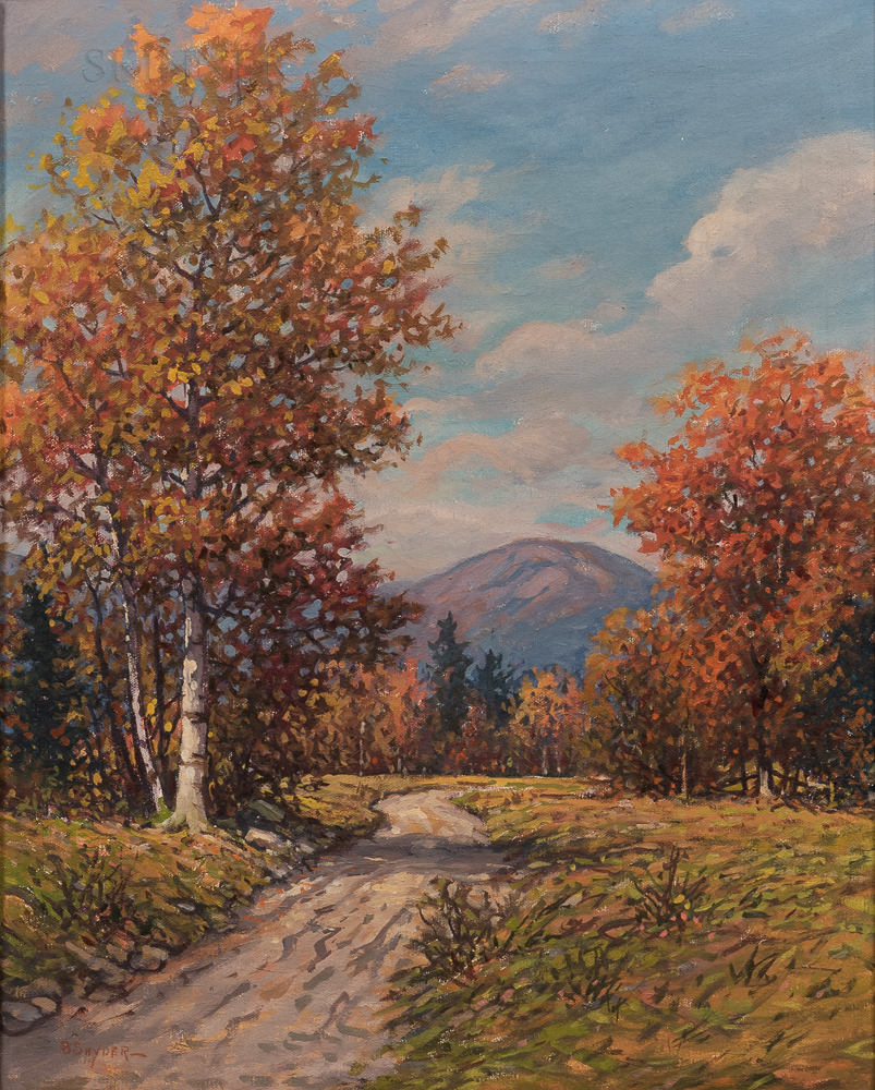 American School, 20th Century      Autumn Landscape