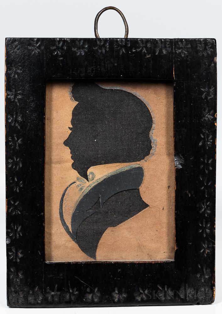 Silhouette Portrait of a Gentleman
