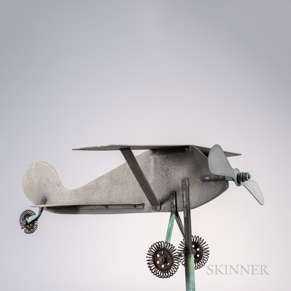 Sheet Aluminum Airplane Weathervane