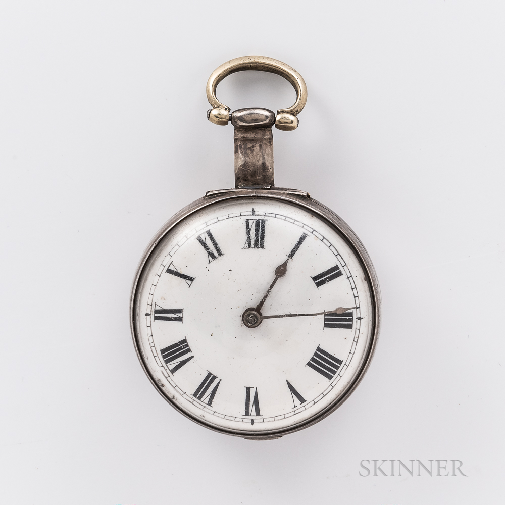 Tompion Sterling Silver Watch