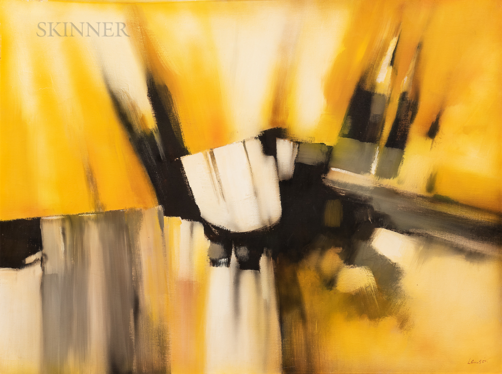 Robert Lawson (American, 20th Century)      Abstract