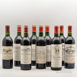 Mixed Bordeaux, 9 bottles