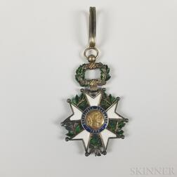 Silver Gilt and Enamel Legion of Honor Medal