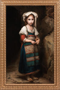 Italian School, 19th Century      Young Girl in Peasant Costume