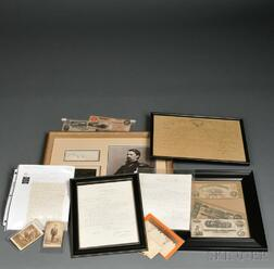 Group of Civil War Newspapers, Documents, and Images
