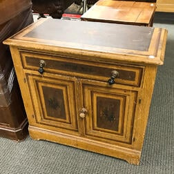Cottage-painted Pine Commode