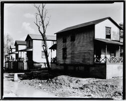 Walker Evans (American, 1903-1975)       Company Houses for Miners, Morgantown, West Virginia