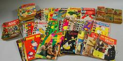 100 Silver Age Comic Books and Six Little Big Books