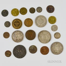 Group of French Coins and Tokens