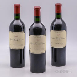 Bryant Family Cabernet Sauvignon Proprietor Grown 1995, 3 bottles