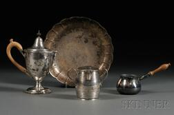 Four Pieces of Georgian Silver