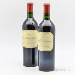 Bryant Family Cabernet Sauvignon Proprietor Grown 1997, 2 bottles