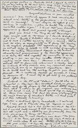 Lovecraft, H.P. (1890-1937) Autograph Letter Signed, 9 April 1934.