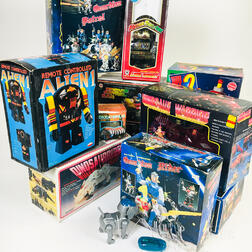 Thirteen Battery-operated Toys
