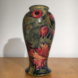 Moorcroft Pottery Spanish Design Vase