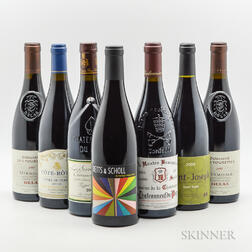 Mixed Rhone, 7 bottles